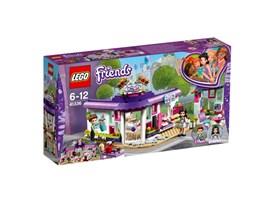 41336 LEGO® Friends Emmas Künstlercafé: Emma macht gerne Mittagspause im Künstlercafé, um sich Inspirationen für ihr näc