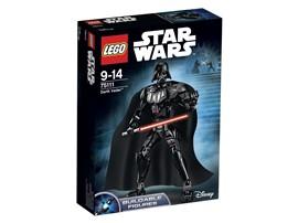 75111 LEGO® Star Wars™ Darth Vader™:   Spüre die dunkle Seite der Macht mit Darth Vader! Diese LEGO® Version zum Ba