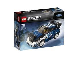 75885 LEGO® Speed Champions:   Mach dich bereit für deine nächste Rallye mit dem LEGO® Speed Champions Ford