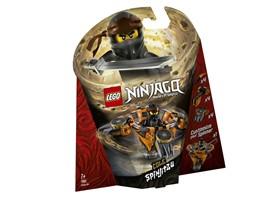 70662 LEGO® NINJAGO Spinjitzu Cole:   Lass die Erde beben – mit SpinjitzuCole! Setze die LEGO®NINJAGO® Minifigur