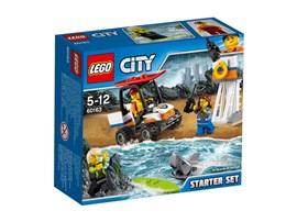 60163 LEGO® City Küstenwache-Starter-Set*:   Schnapp dir dein Funkgerät und eile an den LEGO® City Strand, denn du bist j