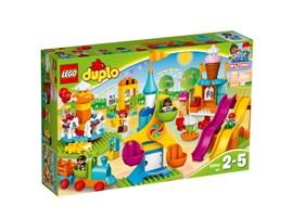 """10840 LEGO® DUPLO® Großer Jahrmarkt:   Mit den modernen LEGO® DUPLO® Figuren in dem farbenfrohen Set """"Großer Jahrma"""