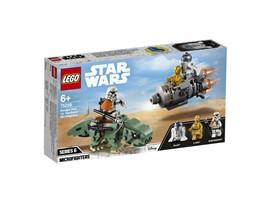 75228 LEGO® Star Wars™ Escape Pod vs. Dewback™ Microfighters:   C-3PO und sein Droidenfreund R2-D2 haben eine Bruchlandung mit ihrer Rettung