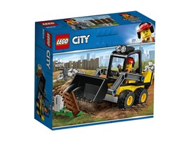 60219 LEGO® City Frontlader:   Schnapp dir deinen Bauhelm und nichts wie ran an die Arbeit! Verwende den Fr