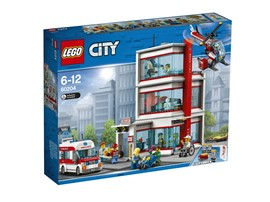 60204 LEGO® City LEGO® City Krankenhaus:   Schnapp dir dein Stethoskop und begib dich ins LEGO® City Krankenhaus (60204