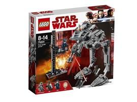 75201 LEGO® Star Wars™ First Order AT-ST™:   Spiele eine kühne LEGO® Star Wars Mission nach und mach dich mit dem halbfer
