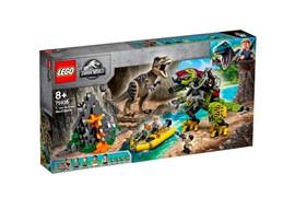 """75938 - LEGO® Jurassic World™ - T. rex vs. Dino-Mech:   Beim Spielen mit dem LEGO®JurassicWorld Set """"T-Rex vs. Dino-Mech"""" (75938)"""