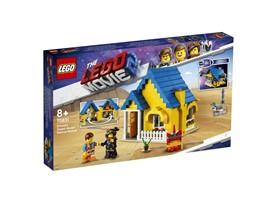70831 The LEGO Movie™ 2 Emmets Traumhaus/Rettungsrakete!:   Baue Emmets Haus in eine Rakete um und rette anschließend Lucy mit dem THEL