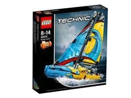 42074 LEGO® Technic Rennyacht:   Zische mit der superstarken Rennyacht über die Ziellinie. Dieses LEGO® Techn