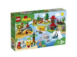 """10907 - LEGO® DUPLO® - Tiere der Welt:   Bringen Sie Ihrem Kleinkind mit dem LEGO®DUPLO®Spielset """"Tiere der Welt"""" ("""