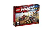 70600 LEGO® NINJAGO Ninja-Bike Jagd