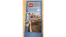 1000 LEGO® Deko Lego City Fahne