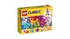 10694 LEGO® Classic LEGO® Baustein-Ergänzungsset Pasteltöne