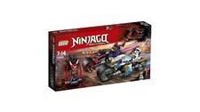 70639 LEGO® NINJAGO Straßenrennen des Schlangenjaguars