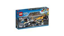 60151 LEGO® City Dragster-Transporter