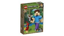 21148 LEGO® Minecraft™ Minecraft™-BigFig Steve mit Papagei