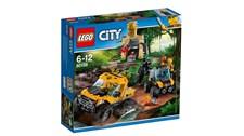 60159 LEGO® City Lego City Mission m. d. Dschungel-Halbkettenfahrz.