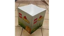 1004 LEGO® Deko Lego Duplo Würfel aus Karton