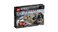 75894 LEGO® Speed Champions Rallyeauto 1967 Mini Cooper S und Buggy 2018 Mini John Cooper Works