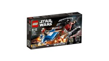 75196 LEGO® Star Wars™ A-Wing™ vs. TIE Silencer™ Microfighters