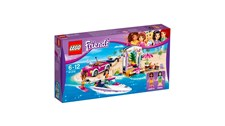 41316 LEGO® Friends Andreas Rennboot-Transporter