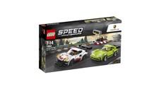 75888 LEGO® Speed Champions Porsche 911 RSR und 911 Turbo 3.0